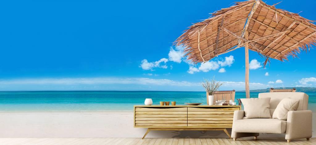 Stranden - Ligstoelen op het strand - Woonkamer 5