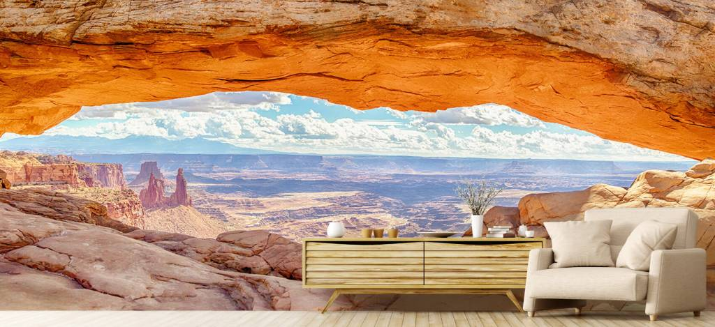 Landschap - Mesaboog National Park Utah - Woonkamer 4