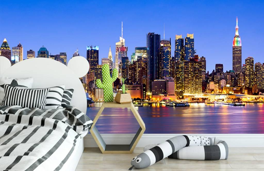 Skylines - New York Manhattan Skyline - Computerruimte 4