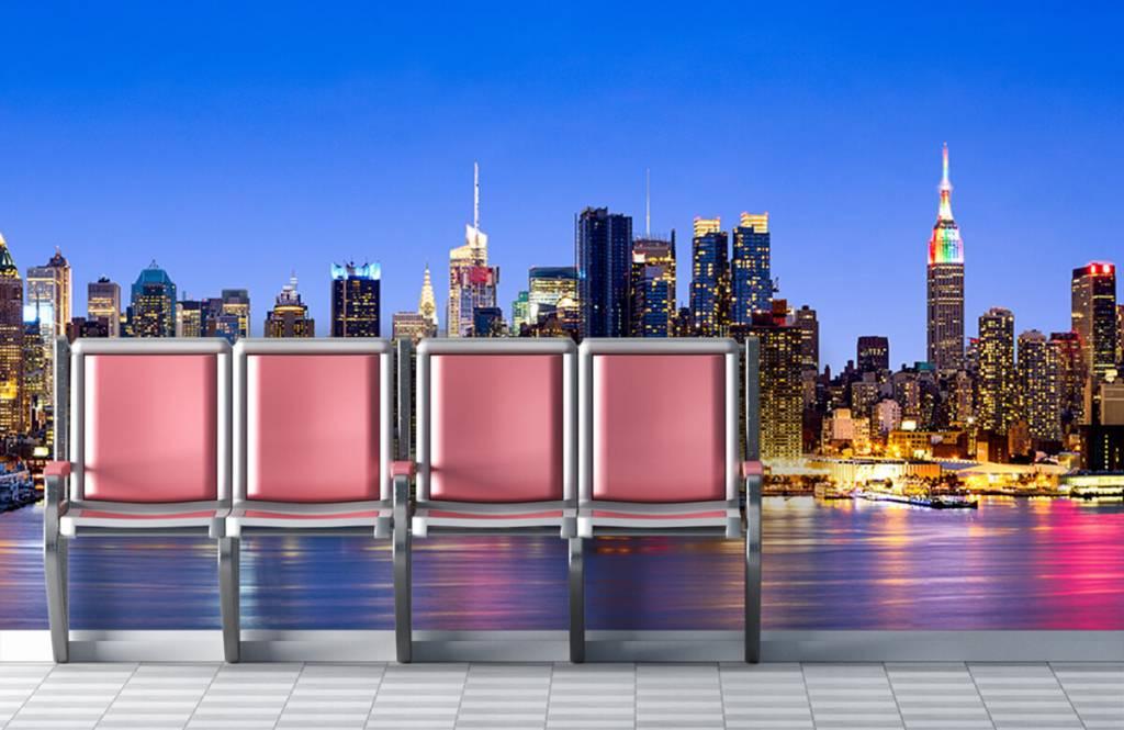 Skylines - New York Manhattan Skyline - Computerruimte 5
