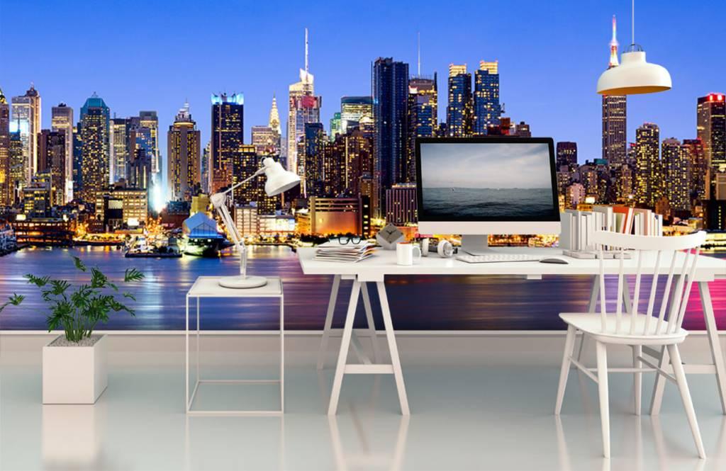 Skylines - New York Manhattan Skyline - Computerruimte 6