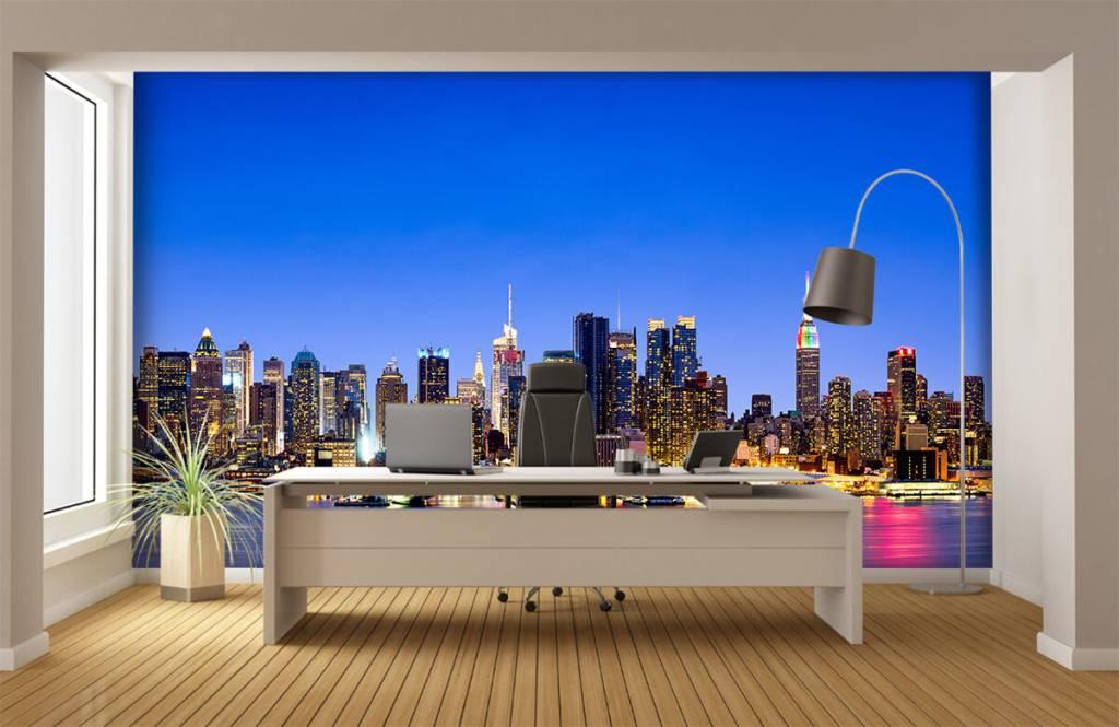 Skylines - New York Manhattan Skyline - Computerruimte 7