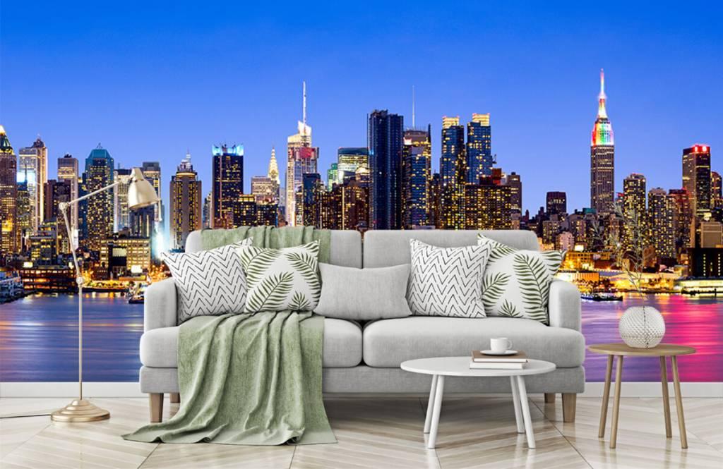 Skylines - New York Manhattan Skyline - Computerruimte 8