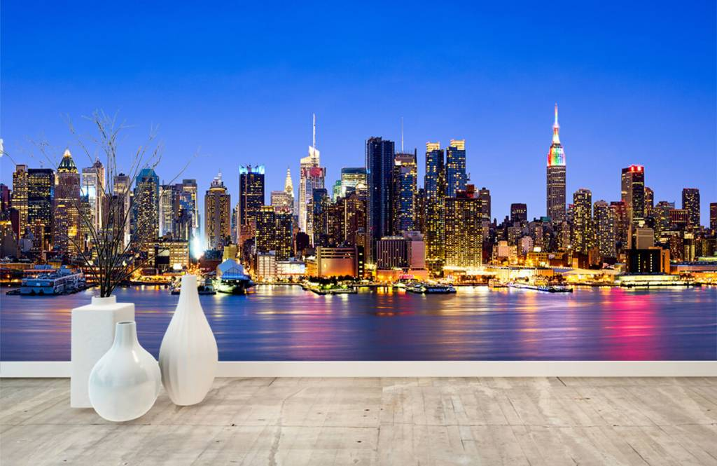 Skylines - New York Manhattan Skyline - Computerruimte 9