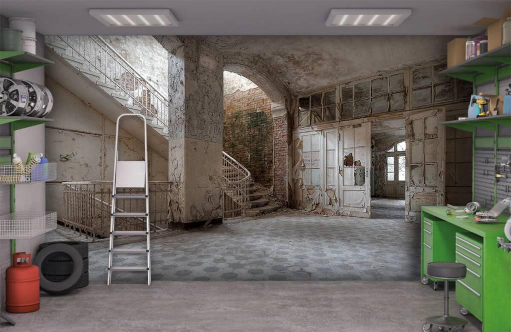 Gebouwen - Oud sanatorium - Computerruimte 9
