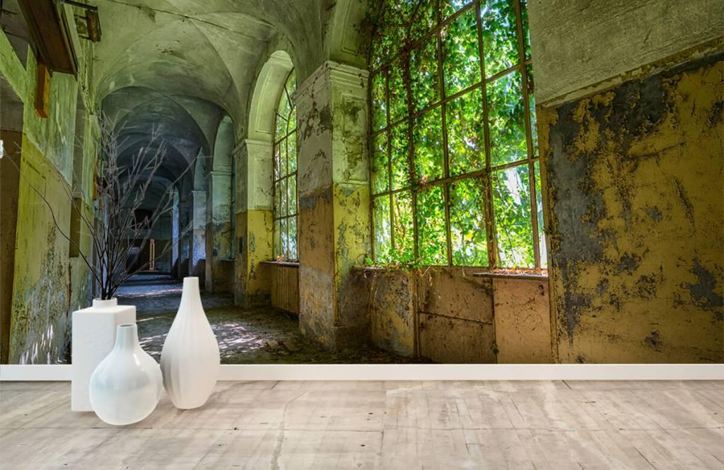 Gebouwen - Oud verlaten gebouw - Slaapkamer 9