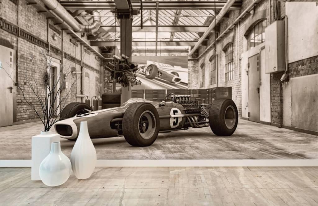 Sportauto's - Oude raceauto - Hobbykamer 1