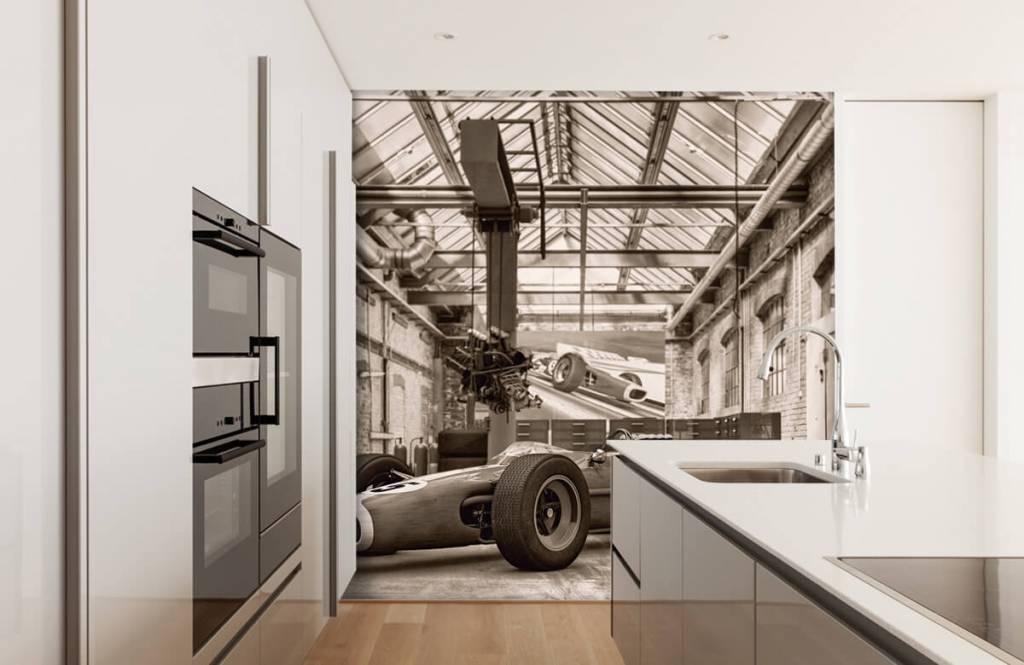 Sportauto's - Oude raceauto - Hobbykamer 5