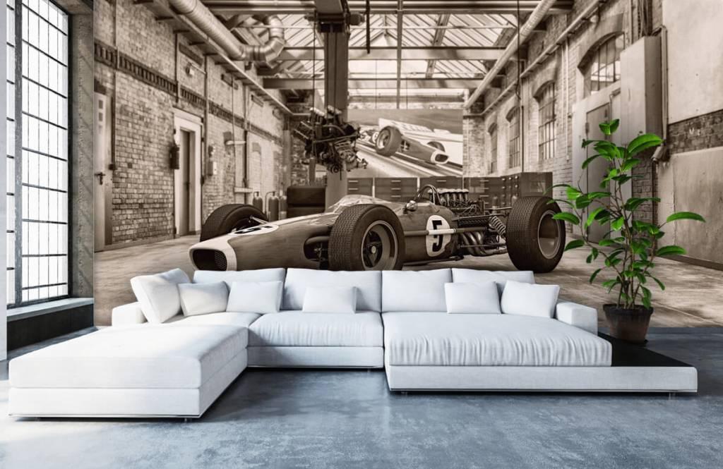 Sportauto's - Oude raceauto - Hobbykamer 7