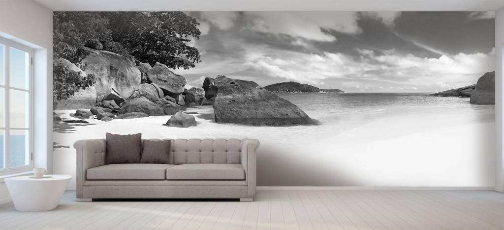 Stranden - Panorama foto van een tropisch strand - Kantine 2