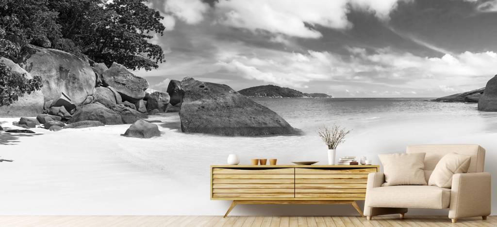 Stranden - Panorama foto van een tropisch strand - Kantine 8