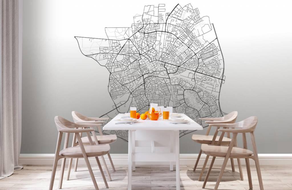 Kaarten - Plattegrond van Apeldoorn, wit - Kantine 1