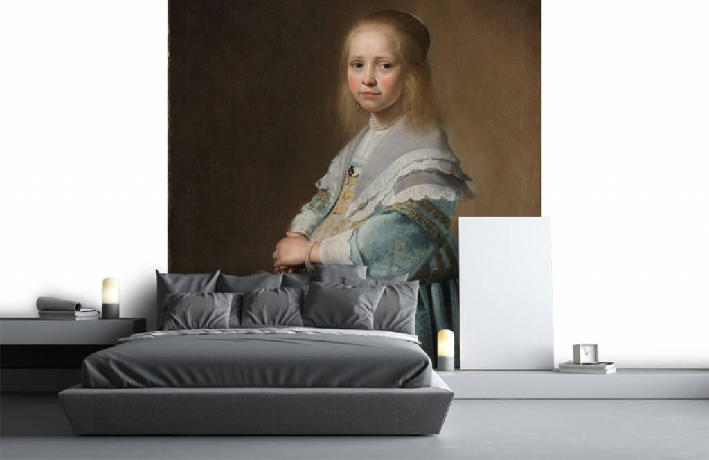Rijksmuseum - Portret van een meisje in het blauw - Woonkamer 2