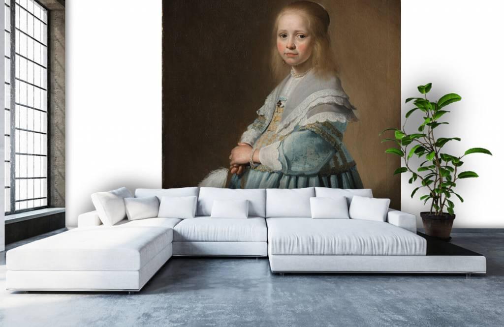 Rijksmuseum - Portret van een meisje in het blauw - Woonkamer 5