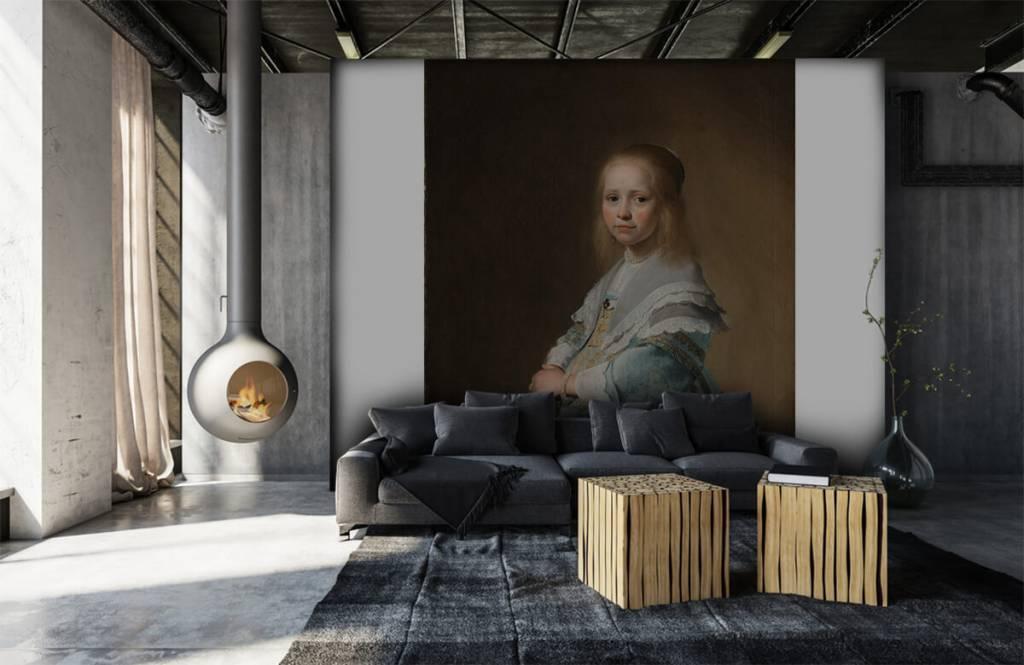 Rijksmuseum - Portret van een meisje in het blauw - Woonkamer 6