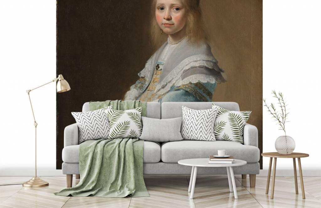 Rijksmuseum - Portret van een meisje in het blauw - Woonkamer 7