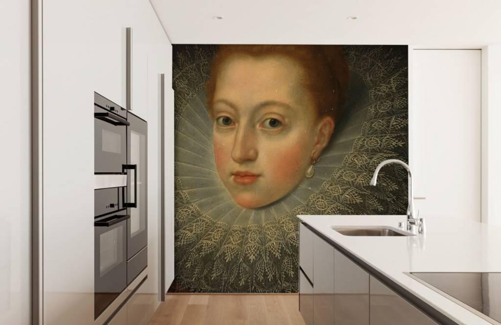 Rijksmuseum - Portret van Margaretha van Oostenrijk - Keuken 3