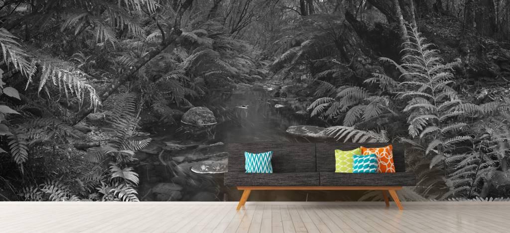 Bomen - Riviertje in het regenwoud - Hobbykamer 9