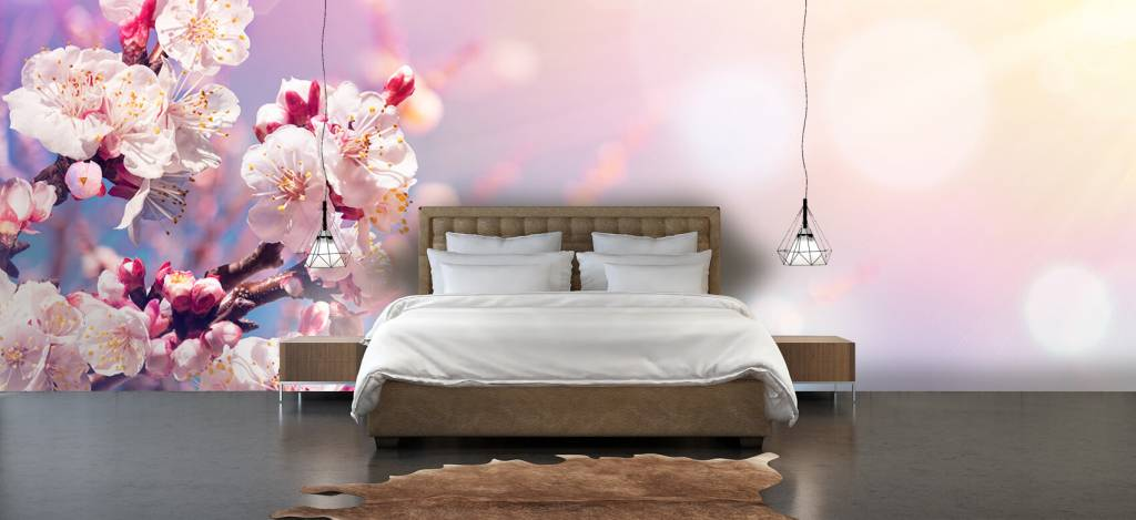 Bloesem - Roze bloesem - Woonkamer 3