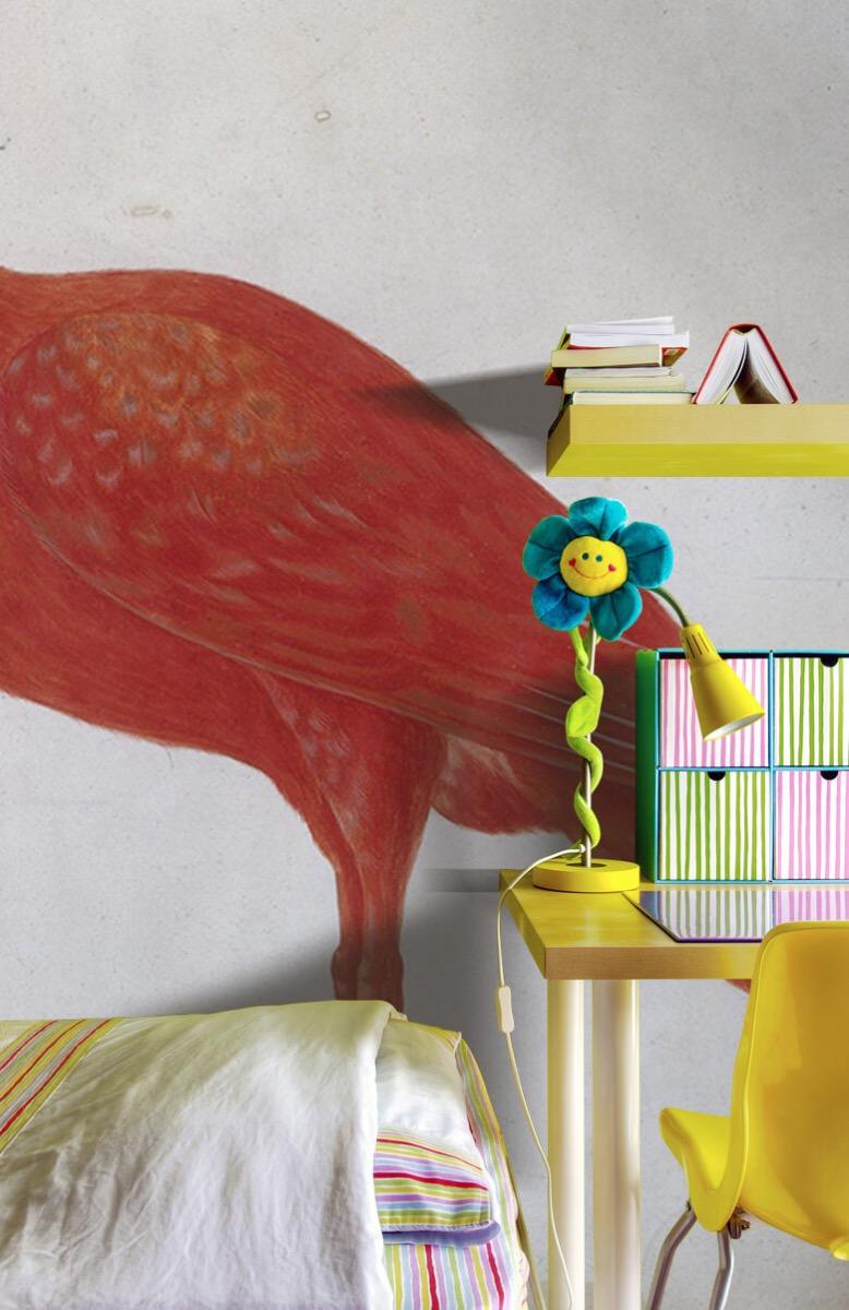 Overige - Rode Ibis met een ei - Keuken 7