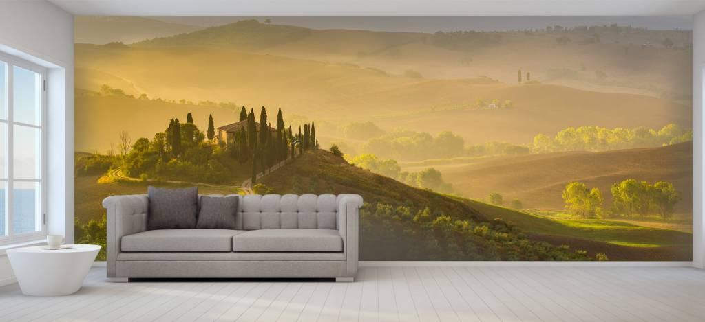 Landschap - Schilderachtig Toscane - Verkoopafdeling 1