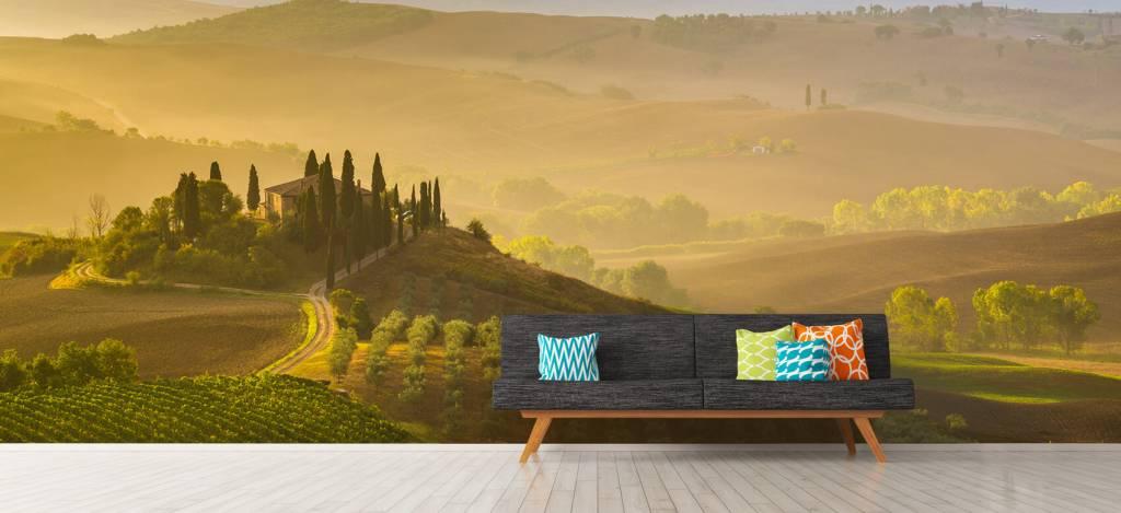 Landschap - Schilderachtig Toscane - Verkoopafdeling 8