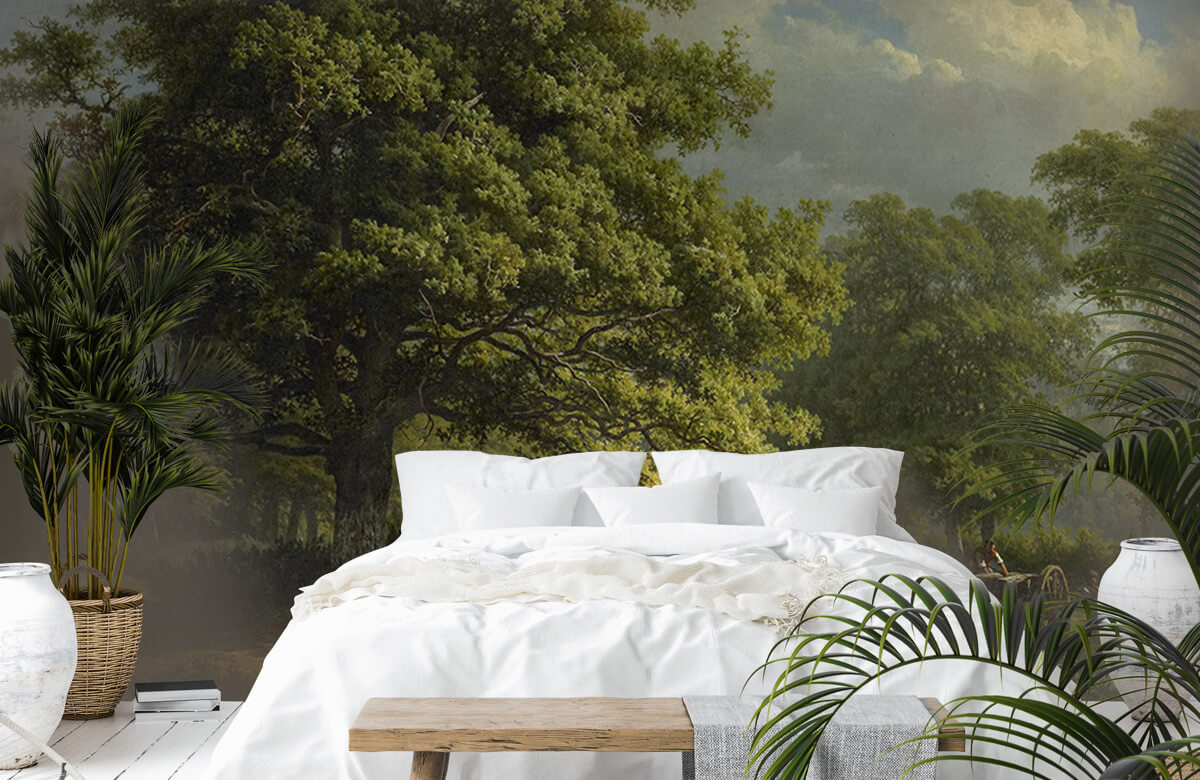 Overige - Gezicht in het Bentheimse bos - Slaapkamer 6