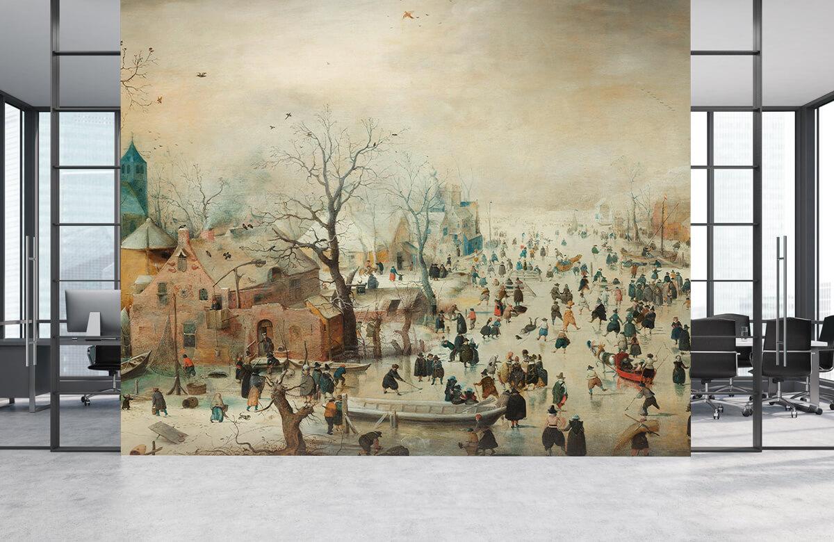Rijksmuseum - Winterlandschap met schaatsers - Woonkamer 3