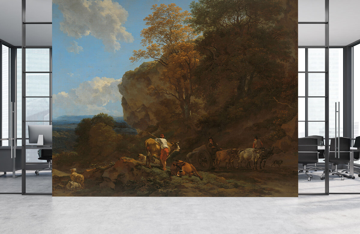 Overige - Italiaans landschap - Woonkamer 3