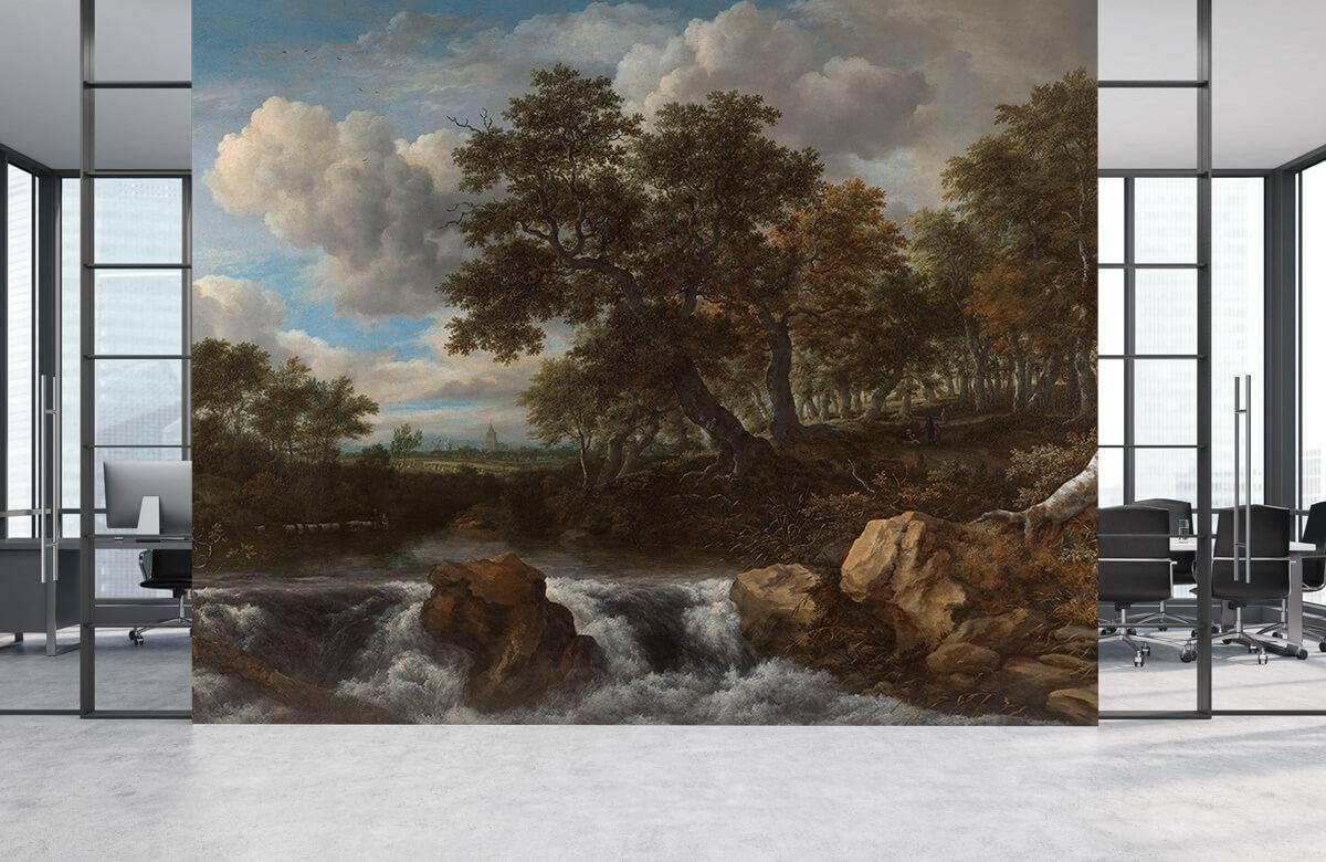 Overige - Landschap met waterval - Slaapkamer 3
