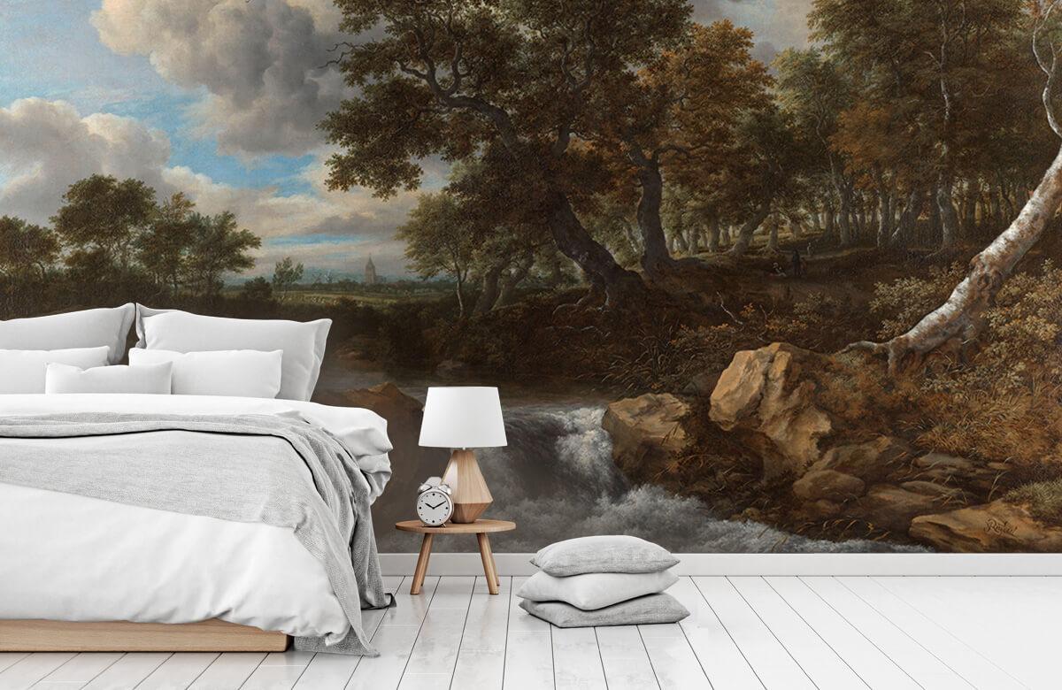 Overige - Landschap met waterval - Slaapkamer 7