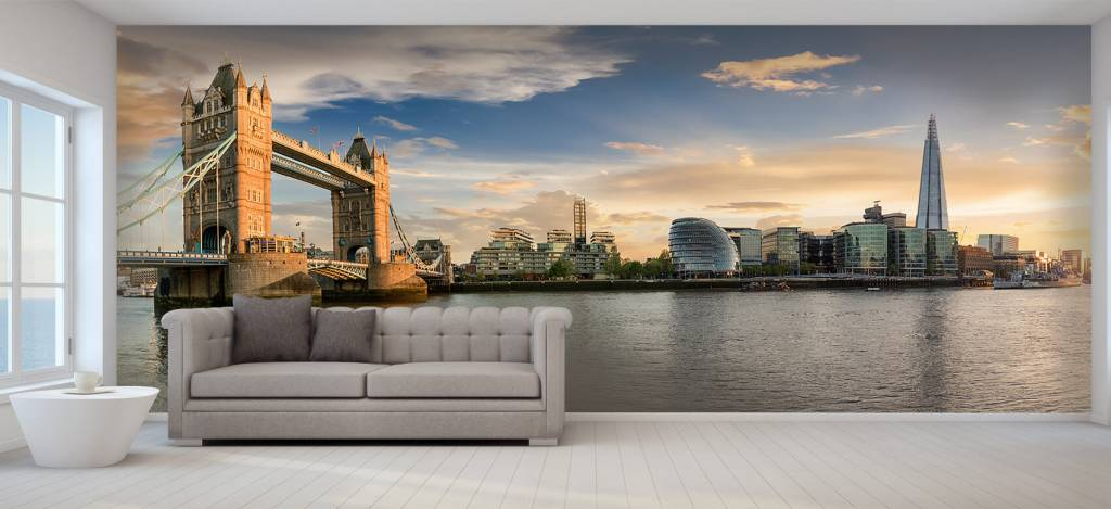 Skylines - Skyline London met Tower Bridge - Hobbykamer 1