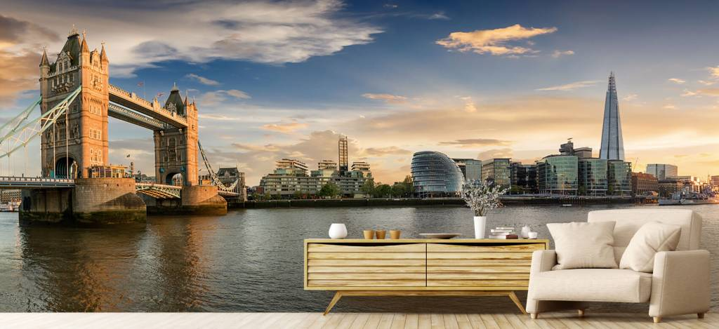 Skylines - Skyline London met Tower Bridge - Hobbykamer 4