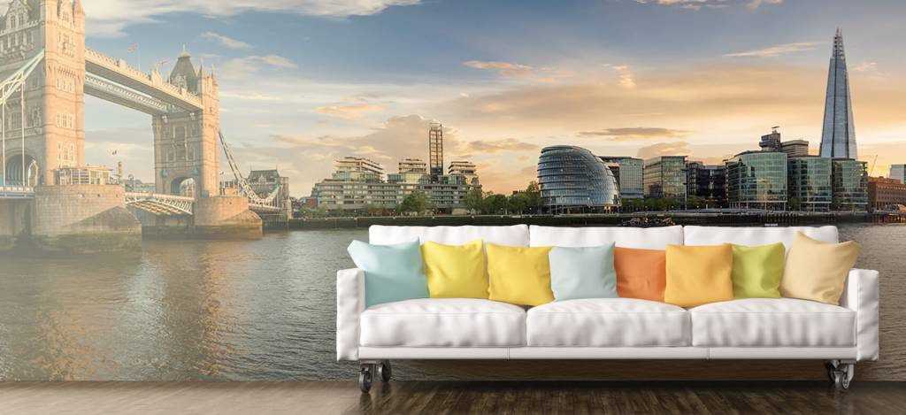Skylines - Skyline London met Tower Bridge - Hobbykamer 6