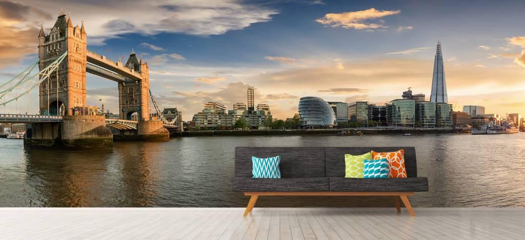 Skylines - Skyline London met Tower Bridge - Hobbykamer 7