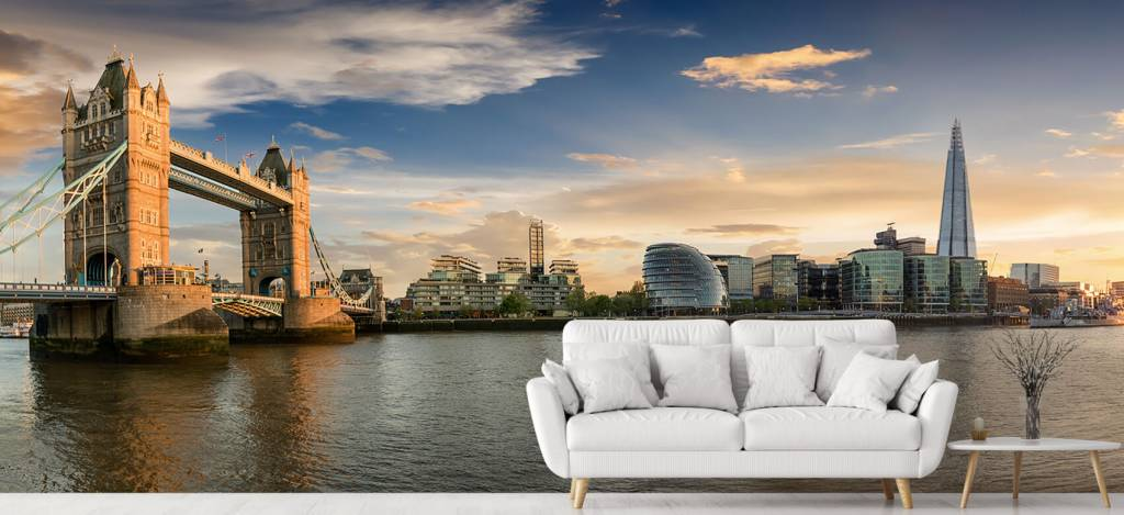 Skylines - Skyline London met Tower Bridge - Hobbykamer 9