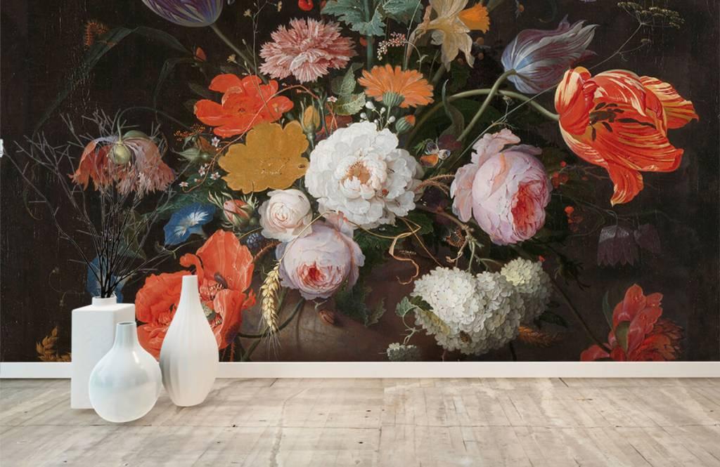 Rijksmuseum - Stilleven met bloemen en een horloge - Slaapkamer 1