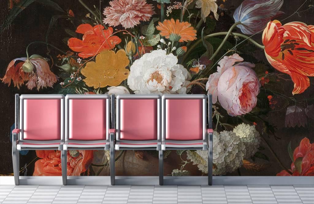 Rijksmuseum - Stilleven met bloemen en een horloge - Slaapkamer 2