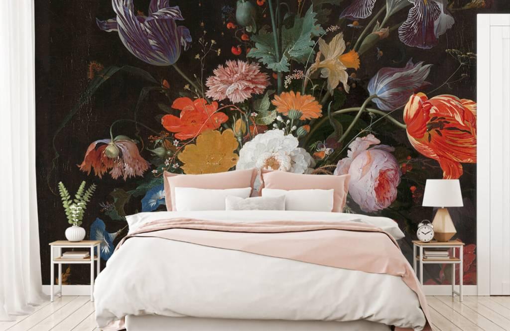 Rijksmuseum - Stilleven met bloemen en een horloge - Slaapkamer 3