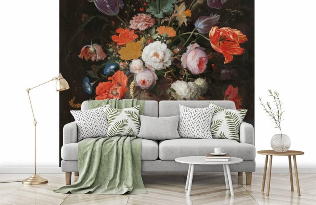 Rijksmuseum - Stilleven met bloemen en een horloge - Slaapkamer 5
