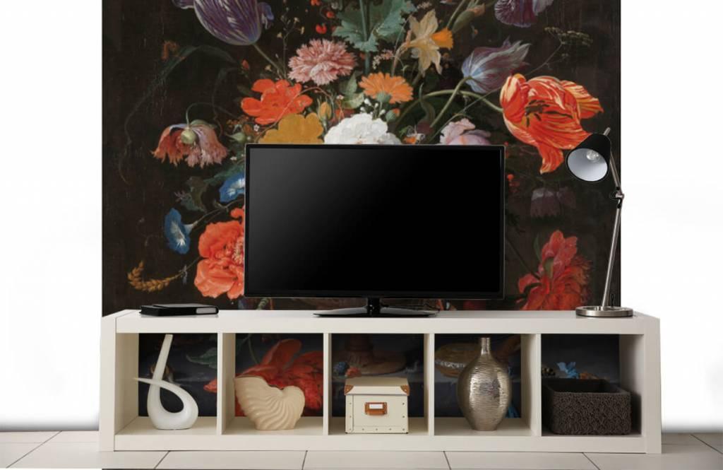 Rijksmuseum - Stilleven met bloemen en een horloge - Slaapkamer 6