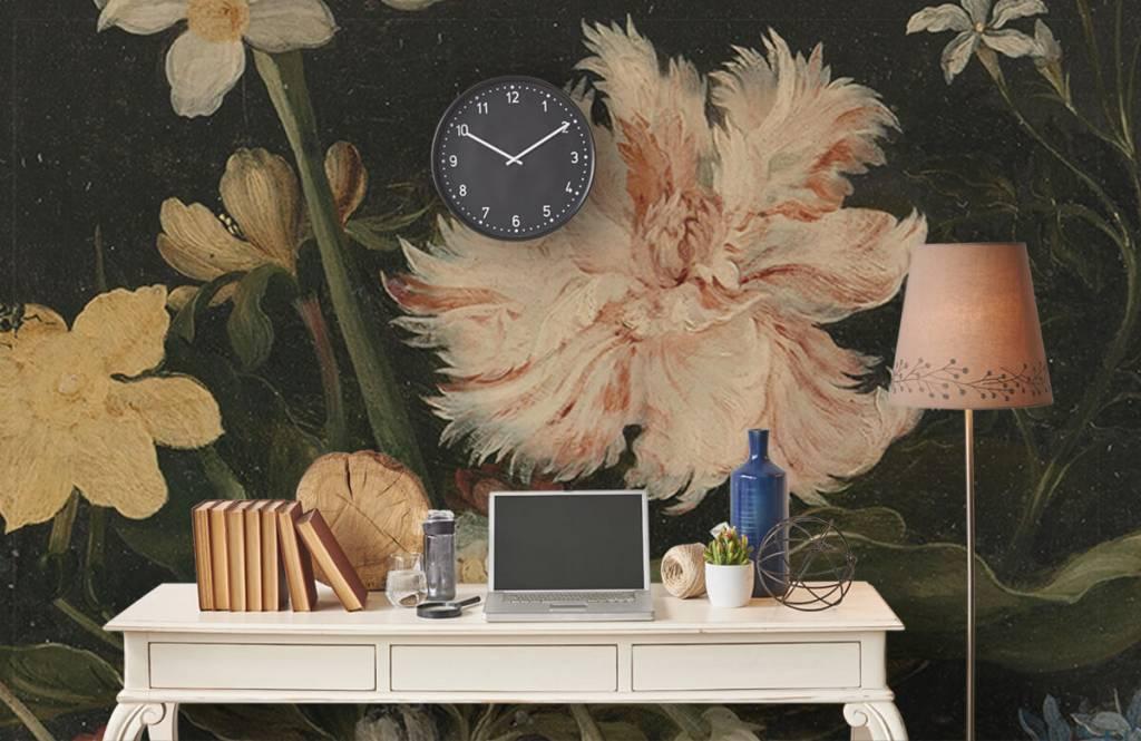 Stillevens en Bloemen - Stilleven met bloemen in een glas - Keuken 3