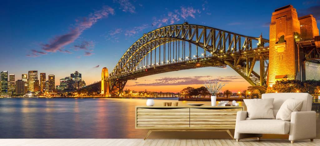 Skylines - Sydney op fotobehang - Directie 1