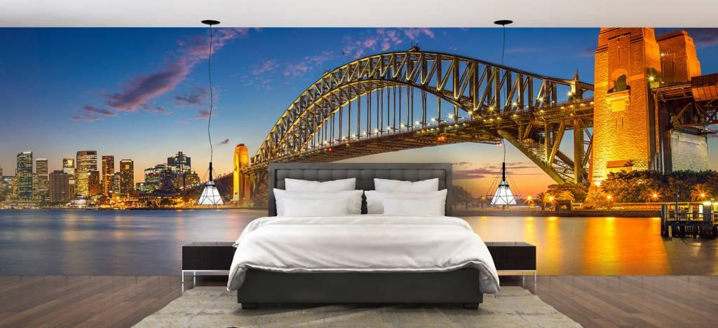 Skylines - Sydney op fotobehang - Directie 2
