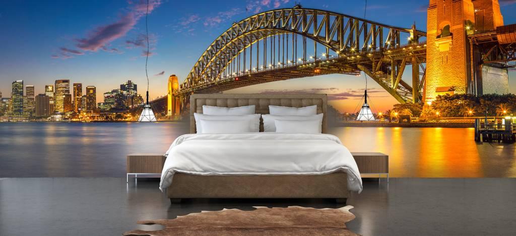 Skylines - Sydney op fotobehang - Directie 3