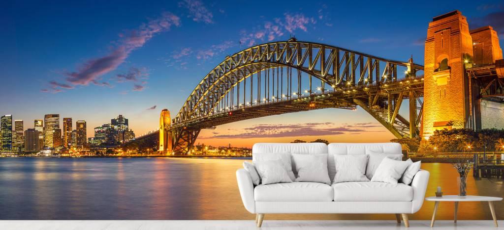 Skylines - Sydney op fotobehang - Directie 4