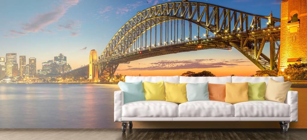 Skylines - Sydney op fotobehang - Directie 6