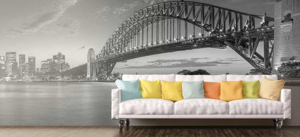 Skylines - Sydney op fotobehang - Directie 7