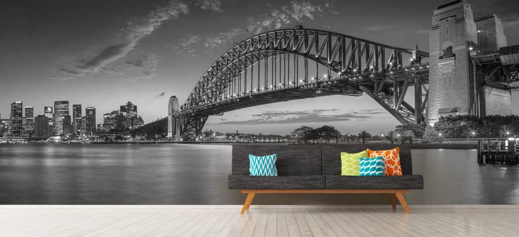 Skylines - Sydney op fotobehang - Directie 9