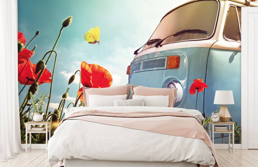 Transport - Vintage Volkswagen busje - Garage 8